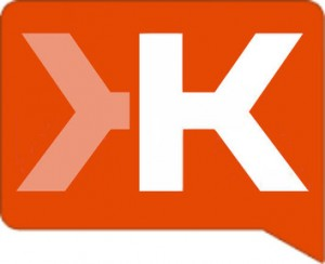 Klout. Klout. Let it all out.