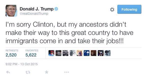 Trump fake tweet